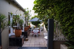Conifer guest house bed and breakfast in port elizabeth outside area