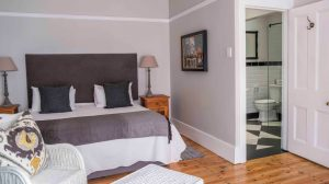 conifer guest house port elizabeth Double Twin Room with Garden View room 13