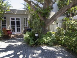 conifer beach house patio and parking accommodation in pe